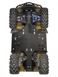 Skid plate full set (plastic) CanAm G1 Outlander MAX