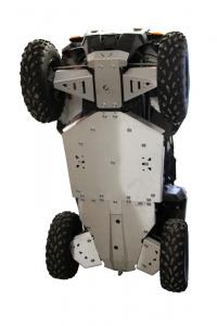 Skid plate full set (aluminium) Polaris ACE 325 / 570 / 900