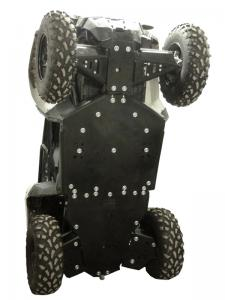 Skid plate full set (plastic) Polaris ACE 325 / 570