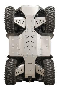 Skid plate full set (aluminium) SMC J-MAX 700