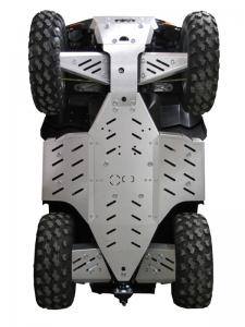 Skid plate full set (aluminium) Polaris Sportsman XP 550 / XP 850 (-2014)
