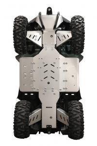 Skid plate full set (aluminium) SMC J-MAX 700 L (T3)