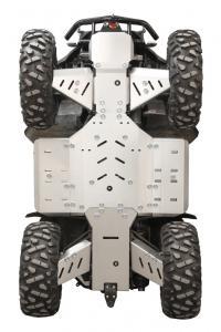 Skid plate full set (aluminium) SMC MBX 700
