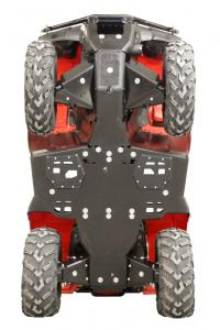 Skid plate full set (plastic) Rancher IRS / Rubicon IRS Honda TRX 420 FA6 (IRS) / TRX 500 FA6 FA7 (IRS) / TRX 500 FM6 FM7 (IRS) OUTLET