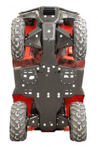 Skid plate full set (plastic) Rancher IRS / Rubicon IRS Honda TRX 420 FA6 (IRS) / TRX 500 FA6 FA7 (IRS) / TRX 500 FM6 FM7 (IRS)