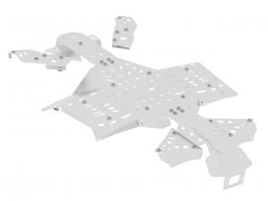 Skid plate full set (aluminium) CanAm G2 Outlander MAX 450 / 500 / 570 Outlander L MAX