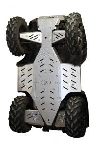 Skid plate full set (aluminium) Polaris Sportsman XP 850 (2015-2016) XP 1000 (-2016)