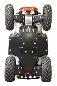 Skid plate full set (plastic) Polaris Scrambler 850 / 1000 (2015+)
