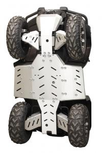 Skid plate full set (aluminium) CFORCE 450-S / 520-S