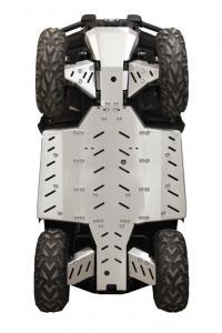 Skid plate full set (aluminium) CFMOTO CFORCE 450-L / 520-L