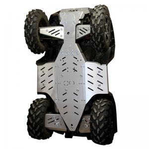 Skid plate full set (aluminium) Polaris Sportsman Touring SP 850 (2015+)  XP 1000 (...-2017)