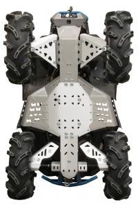 Skid plate full set (aluminium) CanAm Renegade X MR (-2016)