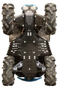 Skid plate full set (plastic) CanAm Renegade X MR (-2016)