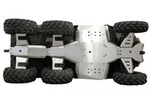 Skid plate full set (aluminium) Polaris Big Boss 570