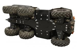 Skid plate full set (plastic) Polaris Big Boss 570
