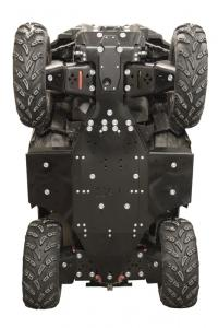 Skid plate full set (plastic) Polaris Sportsman XP 1000 (2017+)