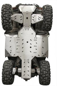 Skid plate full set (aluminium) CFMOTO CFORCE 850 CFMOTO CFORCE 1000