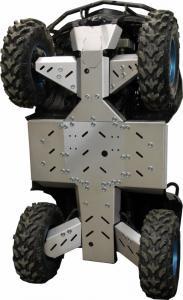 Skid plate full set (aluminium) Trapper 550/750 Hisun Tactic 550/750 2-Up