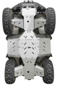 Skid plate full set (aluminium) Kymco MXU 700