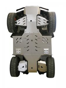Skid plate full set (aluminium) Cectek 500 Gladiator / Quadrift