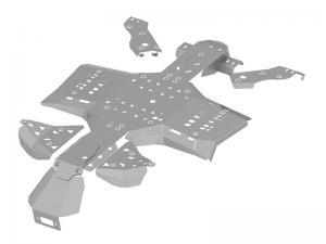 Skid plate full set (aluminium) CanAm G2 Outlander 650/850/1000 ( 2019 +)