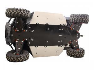 Skid plate full set (aluminium/plastic) Polaris Ranger 1000