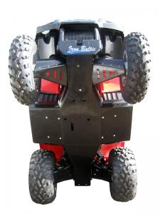 Skid plate full set (plastic) Polaris Sportsman 400 / 450 / 500 (-2010)