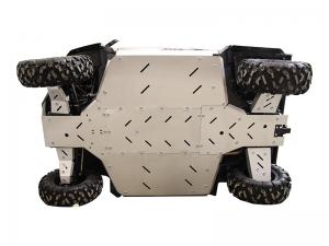 Skid plate full set (aluminium) CFMOTO UFORCE 1000