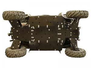 Skid plate full set (plastic) Polaris RZR 900 S / RZR 1000 S