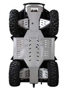 Skid plate full set (aluminium) Dinli DL 704