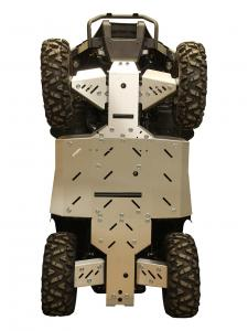 Skid plate full set (aluminium) Linhai M550L EPS OUTLET