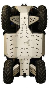 Skid plate full set (aluminium) CFMOTO CFORCE 625 Touring CFORCE 600 Touring (2020+)