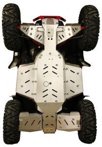 Skid plate full set (aluminium) Polaris Scrambler XP 1000 S