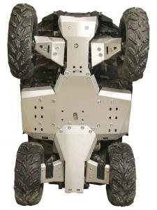 Skid plate full set (aluminium) Polaris Sportsman 570 SP (2021+)  570 Trail (2021+)
