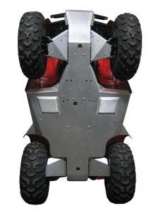 Skid plate full set (aluminium) Honda TRX 420 FA (-2013)