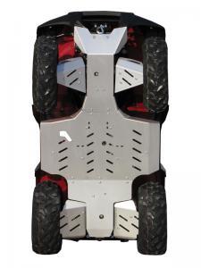 Skid plate full set (aluminium) Kawasaki KVF 650 / 750