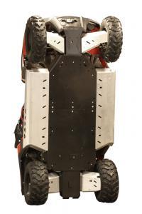 Skid plate full set (plastic) Polaris RZR 800