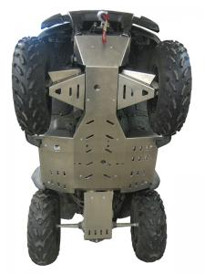 Skid plate full set (aluminium) Kawasaki KVF 650 Rigid