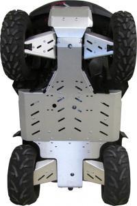Skid plate full set (aluminium) Suzuki KingQuad 500/750 Axi (EPS)