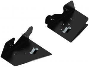 Pl. Rear A-arm guards (pair) Suzuki King Quad 450/500/750 EPS
