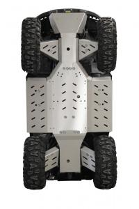 Skid plate full set (aluminium) GOES 525 / 625 MAX