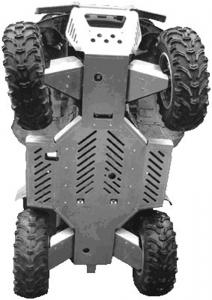 Skid plate full set (aliminium) Yamaha Grizzly 660