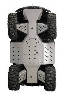 Skid plate full set (aluminium) GOES 525 / 625