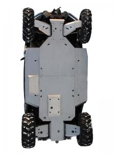 Skid plate full set (aluminium) ZFORCE 600 (Z6)