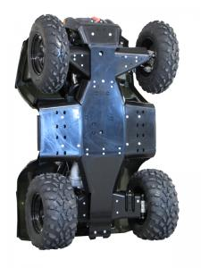 Skid plate full set (plastic) Polaris Sportsman 400 / 450 / 500 / 800 (2011+)