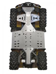 Skid plate full set (aluminium) CanAm G1 Outlander MAX