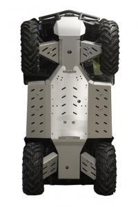 Skid plate full set (aluminium) CFMOTO CFORCE X5A / X6A