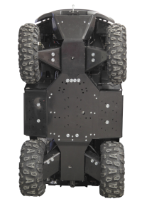 Skid plate full set (plastic) GOES 525 / 625
