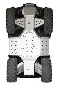 Skid plate full set (aluminium) CFORCE 500-S / 600-S ( X5 / X6 )