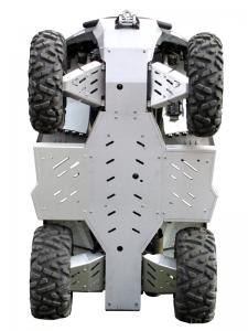 Skid plate full set (aluminium) Dinli DL 703